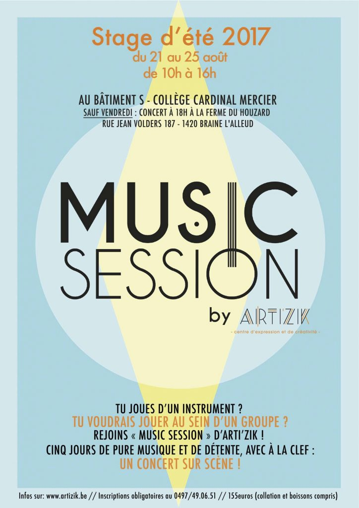 Affiche Music Session 17